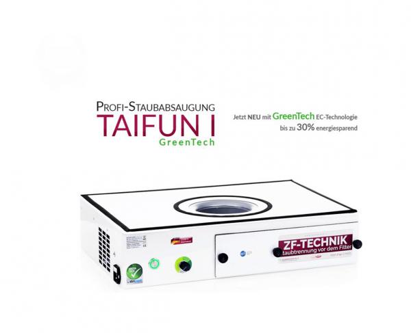 Estrattore di polvere professionale Taifun 1 GreenTech