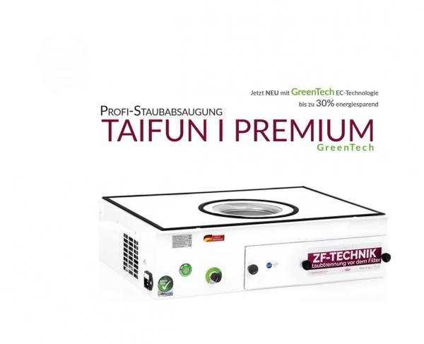 Estrattore di polvere professionale Taifun 1 Premium GreenTech