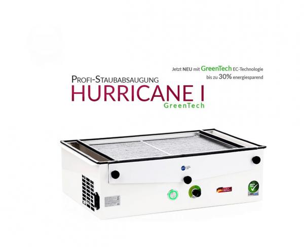 Aspirazione della polvere professionale Hurricane-I-GreenTech