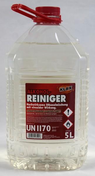 Detergente alcol disinfettante con effetto virucida